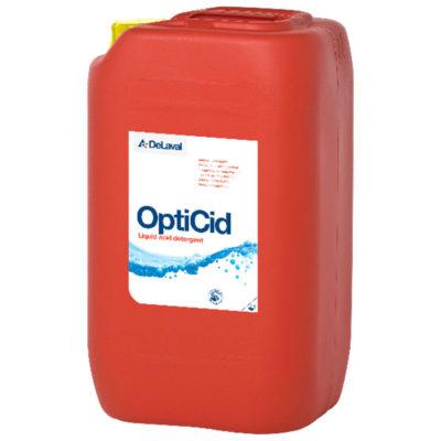 Моющее средство для доильного оборудования OptiCid DeLaval