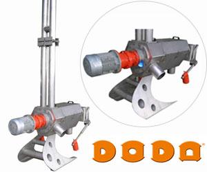 Шнековые сепараторы для навоза Doda